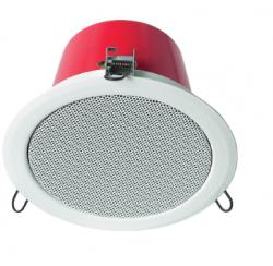 Haut-parleur plafond 15W avec capot acier