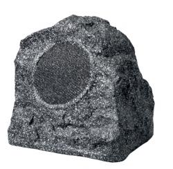Enceinte d'extérieur 30W en forme de rocher gris