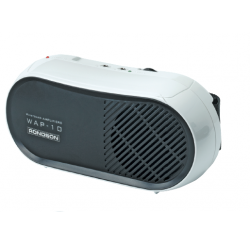 WAP-10 - Porte-voix avec micro cravate et serre-tête