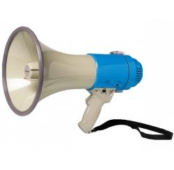 Porte voix avec sirène 25 W