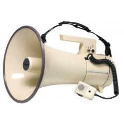 Porte voix avec sirène