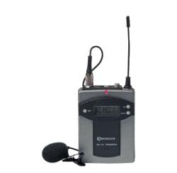 Boîtier émetteur UHF 16 Fr. avec micro cravate (TEACHER)