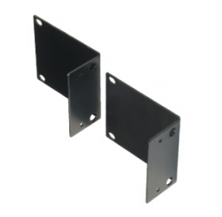 "2U brackets for 19"" rack mounting compatible with amplifier series AM N"