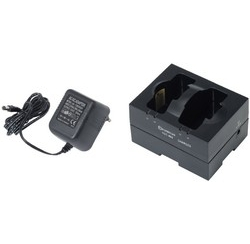 Charging base for guided tour box