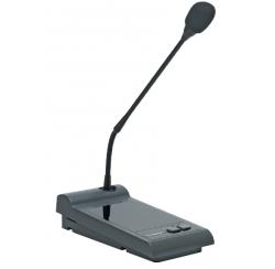 Pupitre microphone d'appel compatible avec les amplificateurs AM 120 6/2 et AM 240 6/2