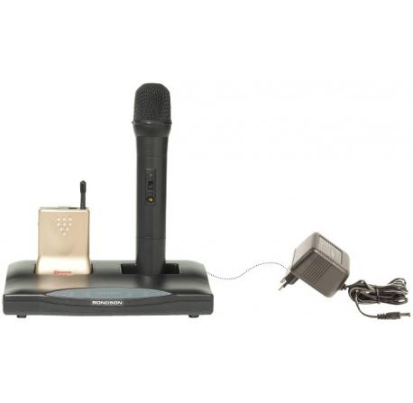Base de rechargement pour micro émetteur