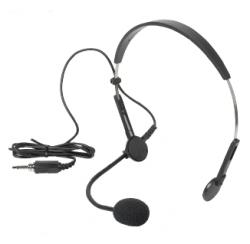 Microphone serre-tête pour boîtier émetteur visite WT-808T