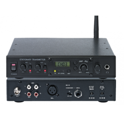Fixed transmitter station for UHF tour guide system with 1 receiver EJ-7R