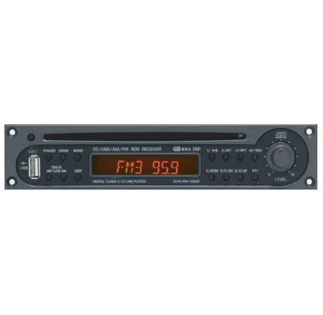 TUNER/CD/USB MP3
