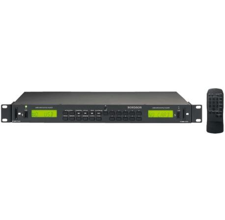 ER-100U2 - Double lecteur MP3 avec interface USB/SD/MMC
