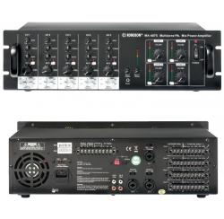Amplificateurs préamplificateurs matriciels 100V de 4 zones