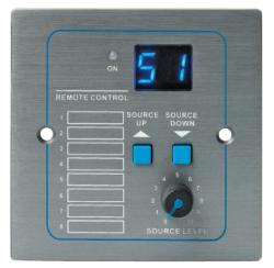 Platine sélecteur de sources compatible avec la matrice audio digitale T-8000