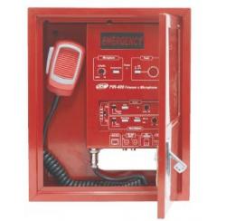 Boitier pompier pour appel général sécurité