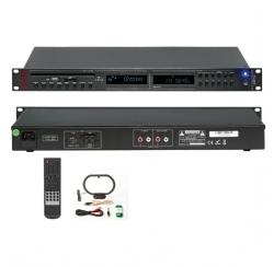 Coffret Lecteur TUNER AM/FM avec CD MP3 et télécommande avec interface USB/SD.