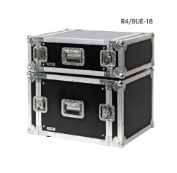 "Flight cases 19"" standard de 4 U à 8 U (pour amplificateurs)"