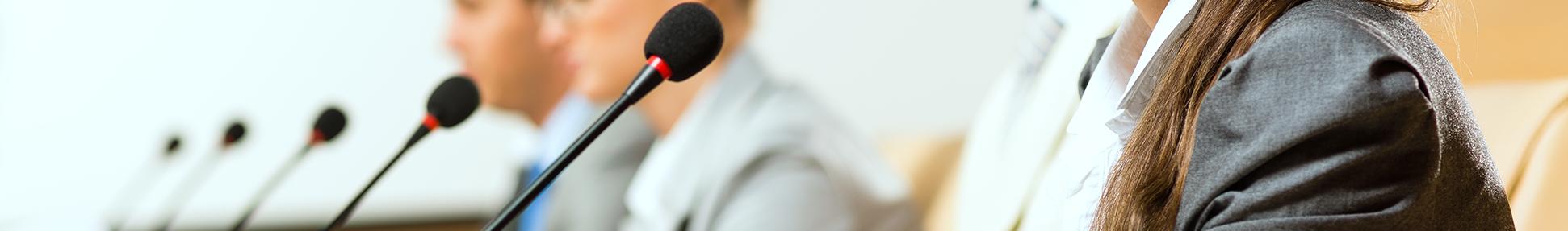 microphones et conferences rondson