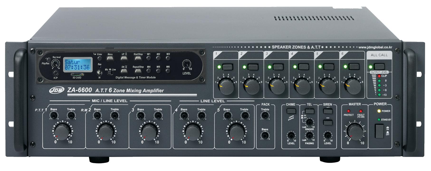 ZA-6600 avec DMT-100-2