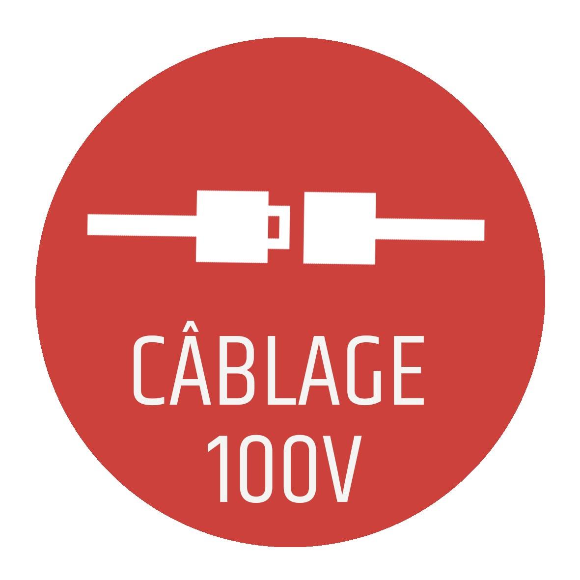 cablage ligne 100 volts