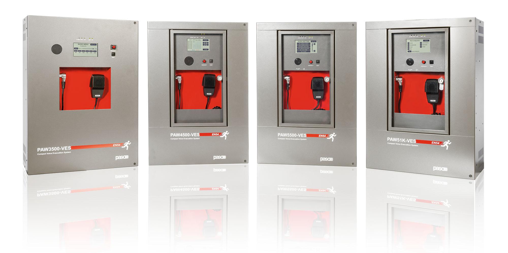 nos coffrets compactes de sonorisation de sécurité EN54