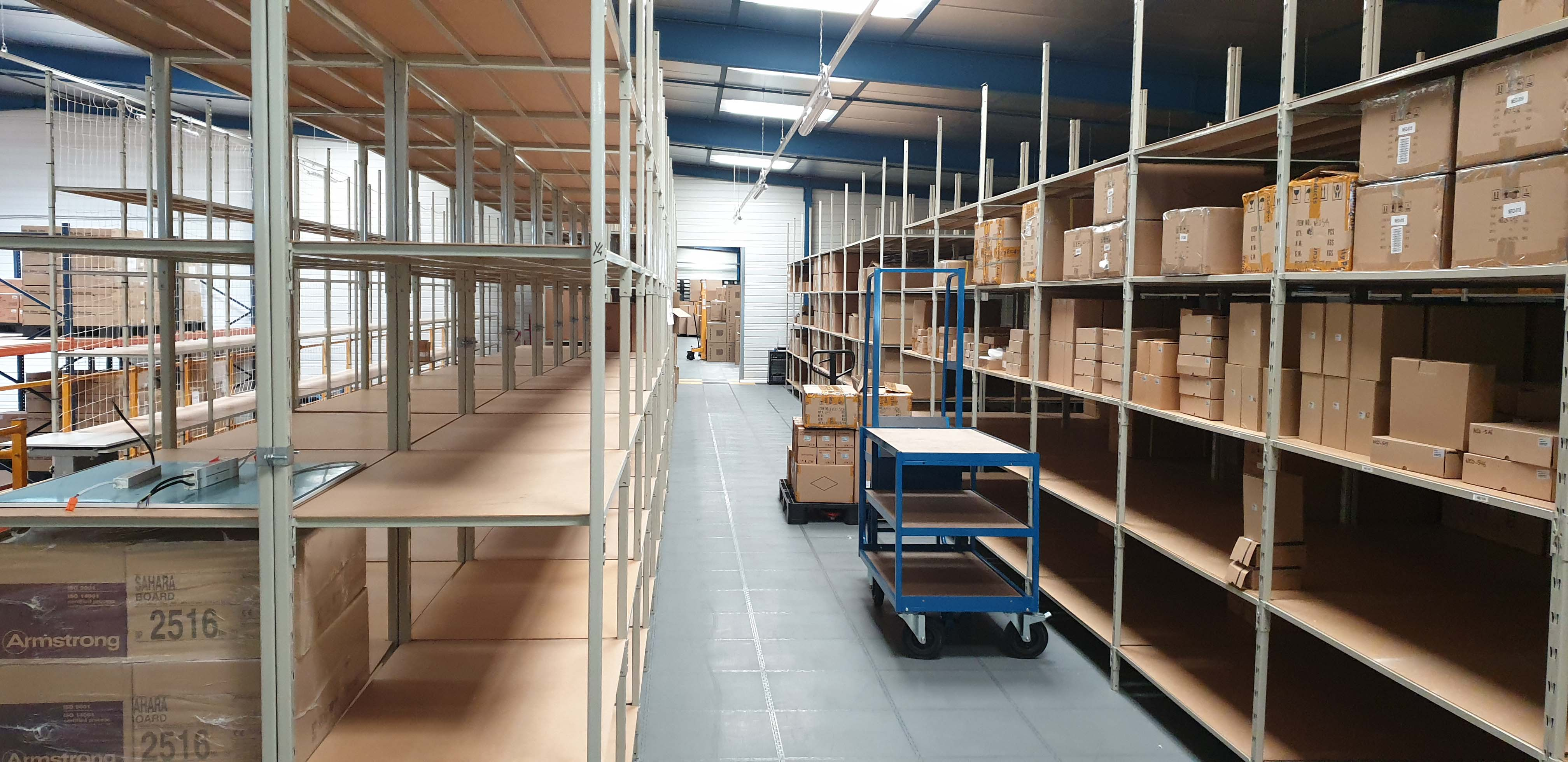 Entrepôt stock sécurité et cctv