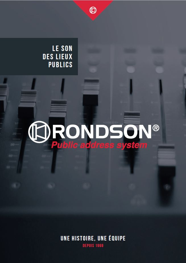 couverture du catalogue corporate rondson