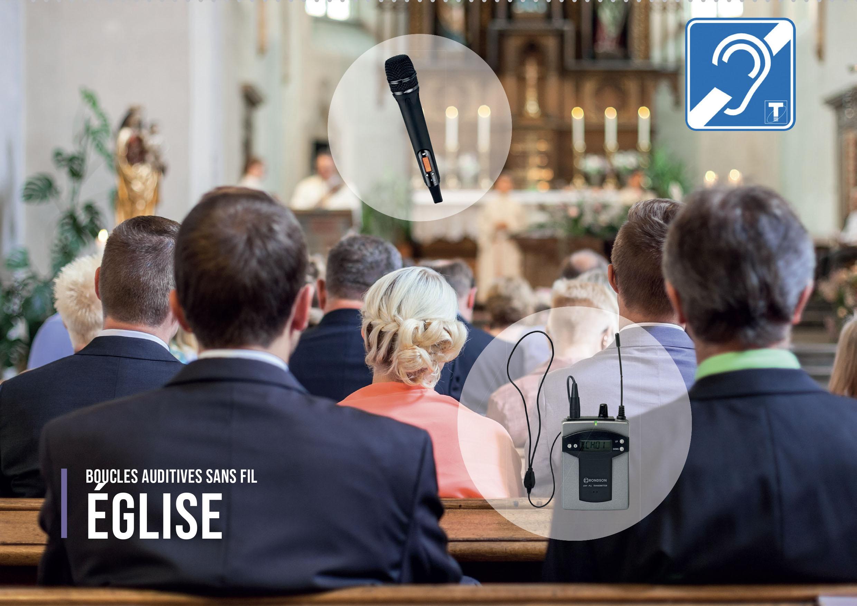 boucle auditive individuelle pour église